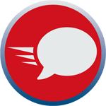 Friendly and professional service icon
